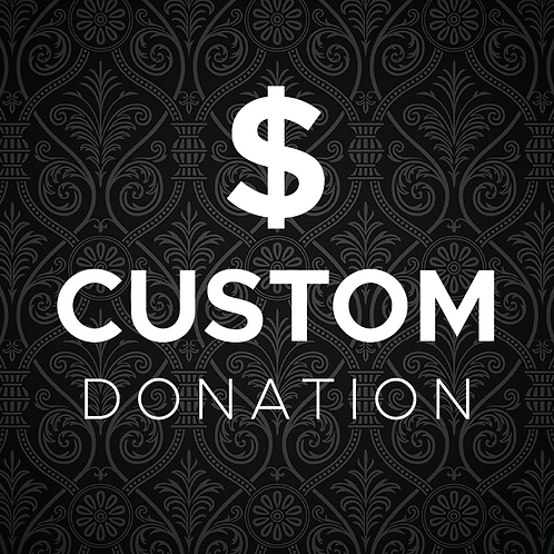Donation of $0