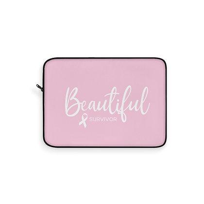 Beautiful Survivor™ Laptop Sleeve Pink