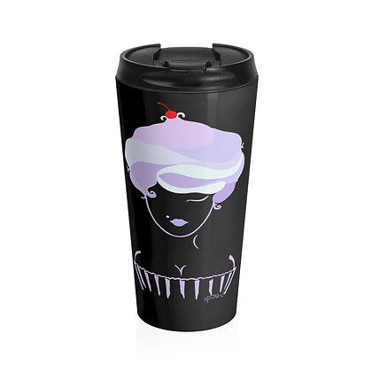 Cupcake Girl Limited Stainless Steel Travel Mug
