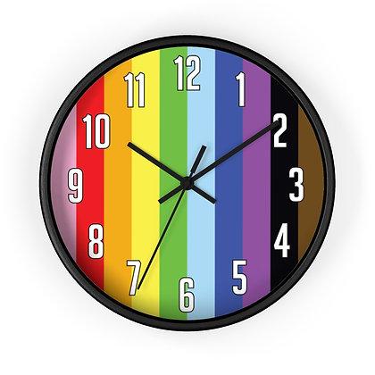 Love is Love™ RAINBOW Wall clock