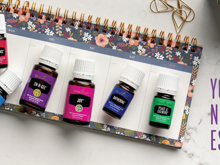 YOUR WEEK NEEDS THESE ESSENTIAL OILS!