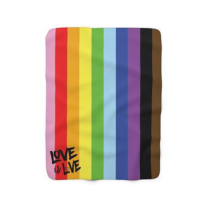 Love is Love™ Sherpa Fleece Blanket