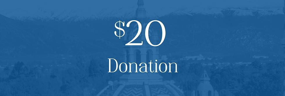 Donation $20