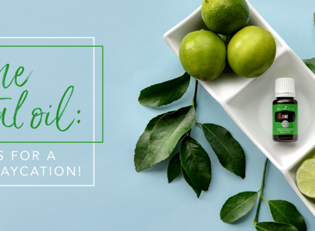 LIME ESSENTIAL OIL: 12 TRICKS FOR A TROPICAL STAYCATION!