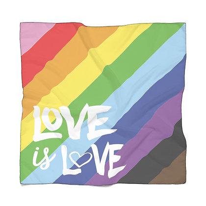 Love is Love Sheer Scarf