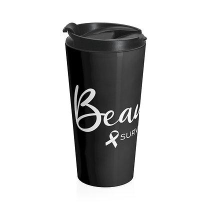 Beautiful Survivor ™ Black Travel Mug