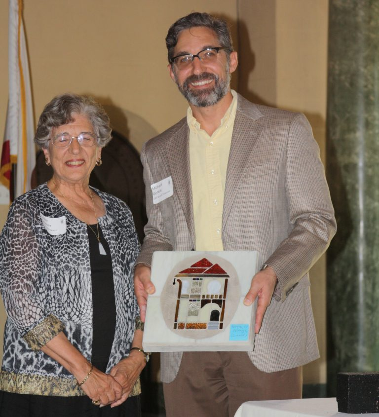 Award Recipient Cathy Zimmer and ORF