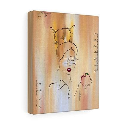 Teacher Girl Limited Canvas (Small)