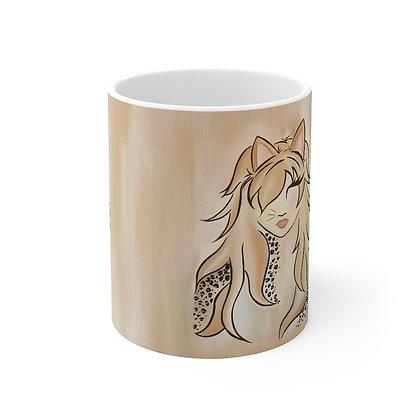Miss Kitty : Coffee Mug 11oz