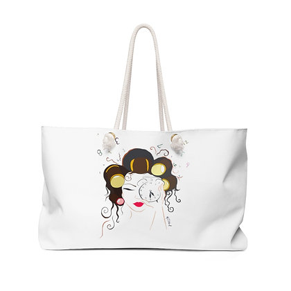 Morning Girl Weekender Bag