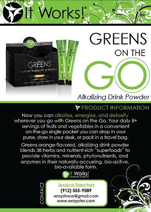 Greens Blitz Card