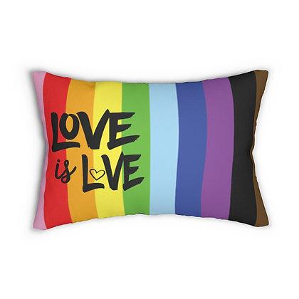 Love is Love™ LOVE Lumbar Pillow