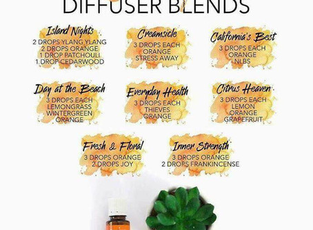 ORANGE DIFFUSER BLENDS