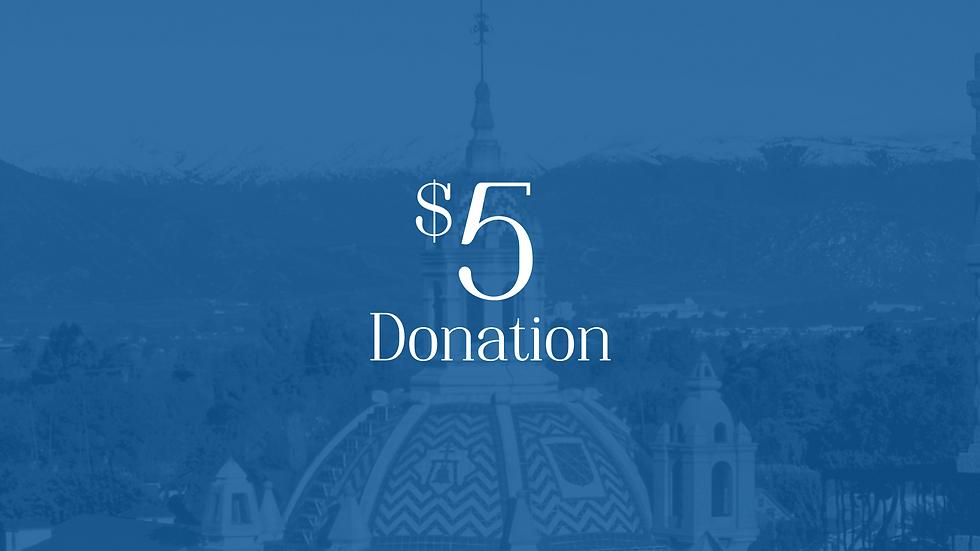 Donation $5
