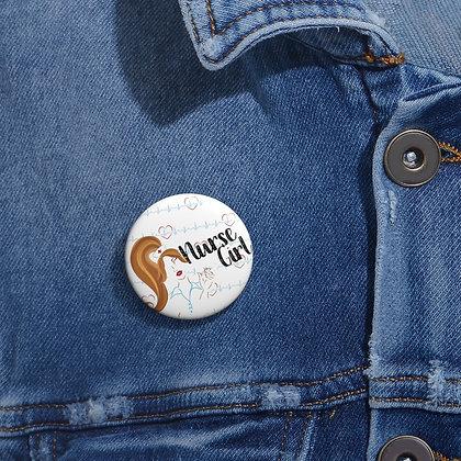 Nurse Girl Button / Pins