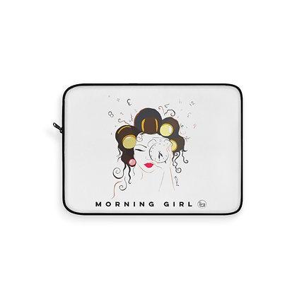 Morning Girl Laptop Sleeve