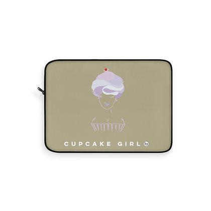 Cupcake Girl Laptop Sleeve