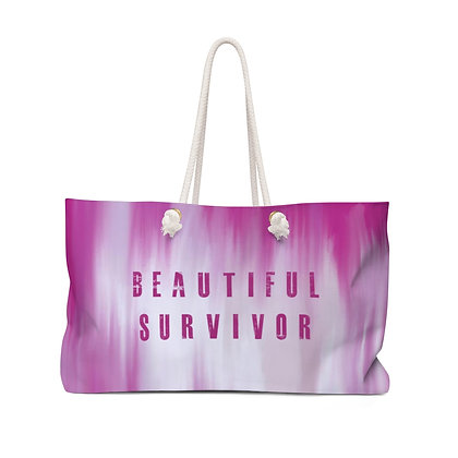 Beautiful Survivor Weekender Bag