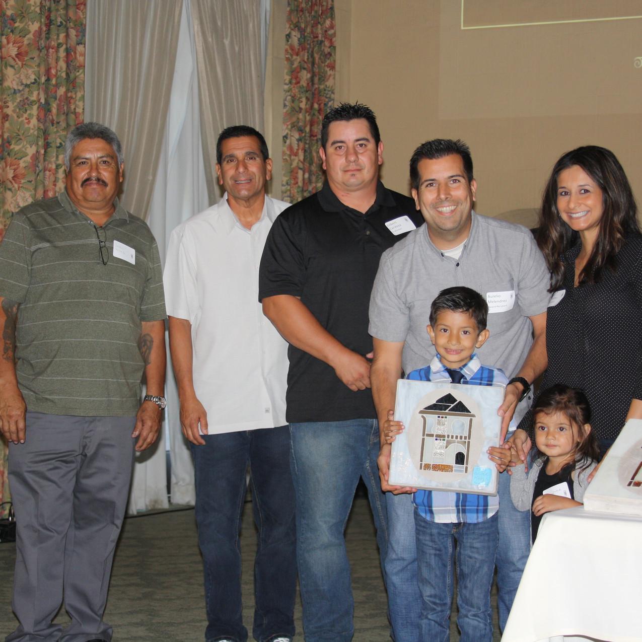 The Melendrez Family and Craftsmen