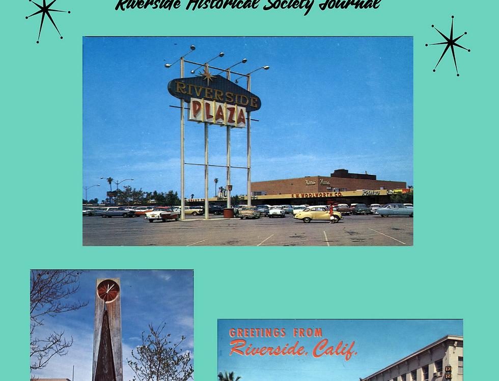 Riverside Historical Society Journal (Hardcover)