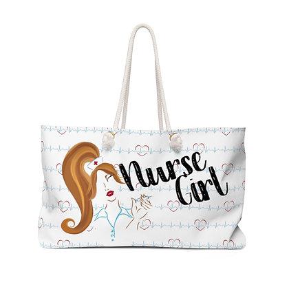 Nurse Girl Weekender Bag