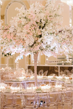 Blush Blossoms Wedding