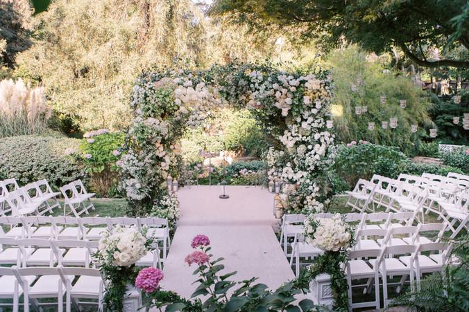 Los Angeles Garden Wedding