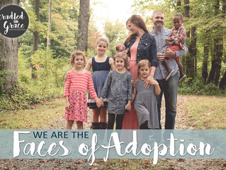"""Adoption is love like we've never known."""