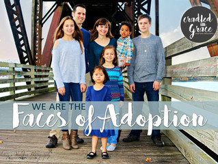 """""""Adoption has wrecked our white middle-class family, and we praise God every day for it!"""""""