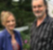 Amanda Yesnowitz and Doug Katsaros The Peculiar History of Dr. James Barry Rhinebeck Writers Retreat 2018