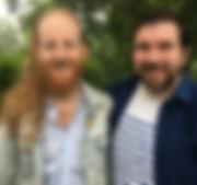 Andrew Butler & Andrew Farmer Blessing Rhinebeck Writers Retreat 2018