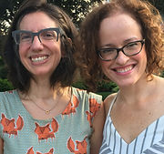 Crystal Skillman & Lynne Shankel Postcard American Town Rhinebeck Writers Retreat 2018