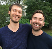 Hunter Bird and Oliver Hauser, Almost Heaven, Rhinebeck Writers Retreat