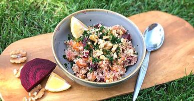 Quinoa Quickie. Das gesunde Schnellrezept