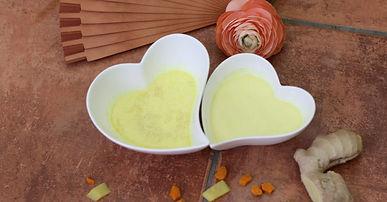 Das beste Rezept für Goldene Milch, Kurkuma Latte