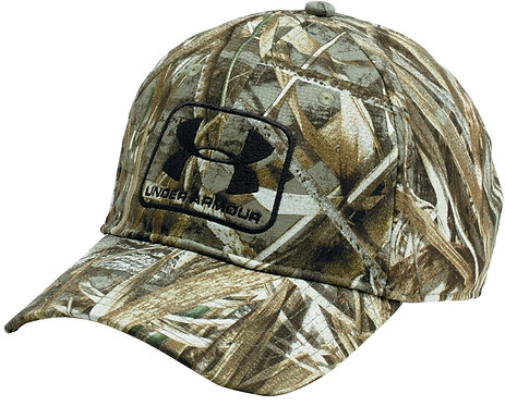 Under Armour camo stretch fit cap realtree max5