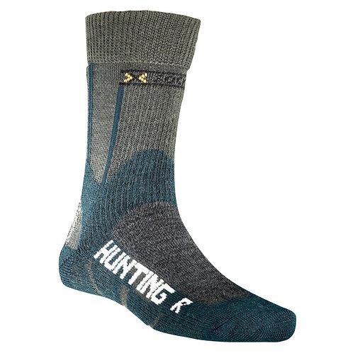 X-Socks Hunting Short Socken green