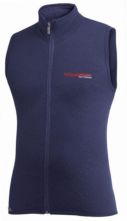 Жилет Woolpower 400, цвет темно-синий