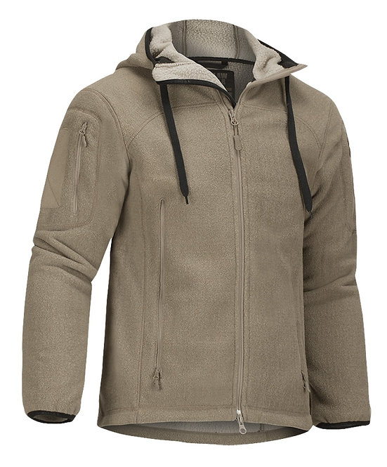 Claw Gear Jacke Milvago Fleece Hoody - coyote
