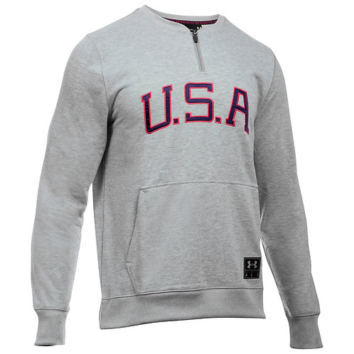 Under Armour Pullover Clay Americana Crew