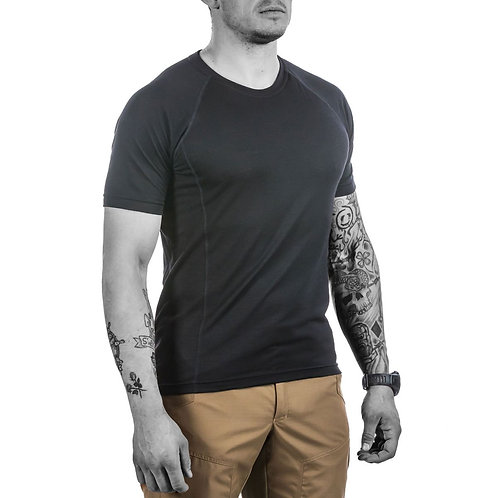 UF Pro Merino Shirt Short Sleeve Black