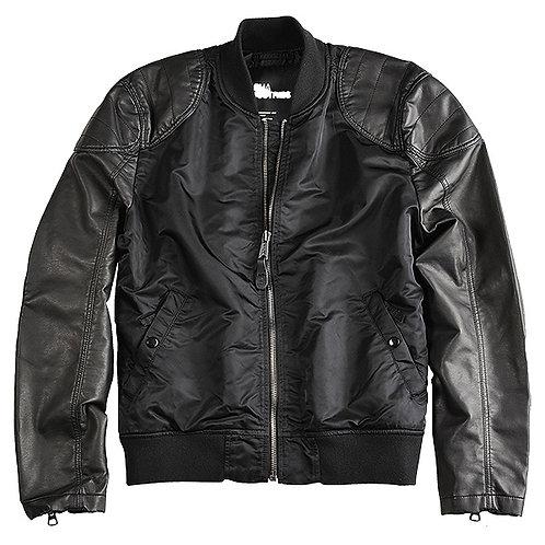 Alpha Industries Jacket Dirt Bike black