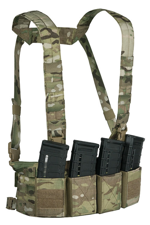 WARRIOR A.S. CHEST RIG LOW PROFILE