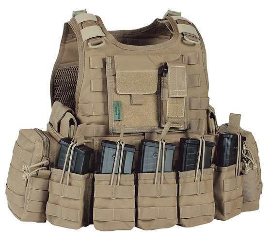 WARRIOR A.S. RICAS COMPACT G36 PLATE CARRIER