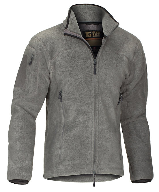 Claw Gear Jacke Milvago Fleece - grau