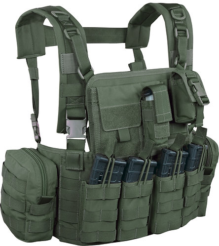 WARRIOR A.S. ELITE OPS 901 CHEST RIG ELITE 4 M4