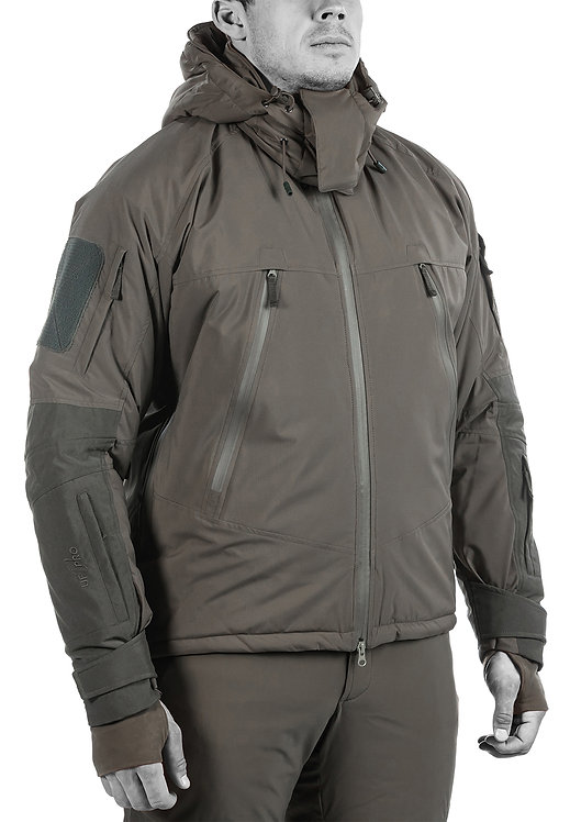 UF Pro Delta OL 3.0 Tactical Winter Jacket Brown Grey