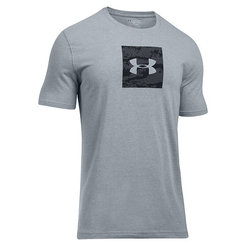 Under Armour T-Shirt Camo Boxed Logo SS