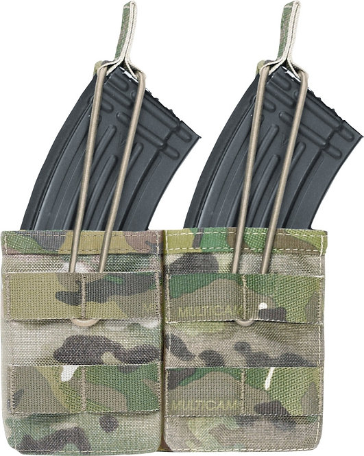 WARRIOR A.S. DOUBLE OPEN MAG POUCH AK47/74