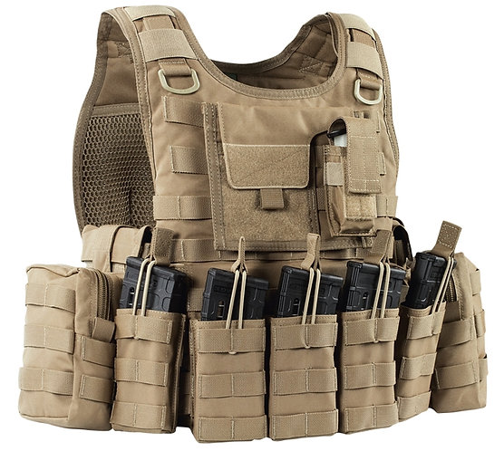WARRIOR A.S. RICAS COMPACT M4 PLATE CARRIER